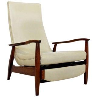 Mid Century Modern Danish Recliner Lounge Chair 1960s Kofod Larsen Dux Attr.