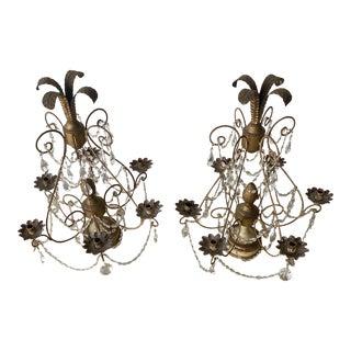 Antique Candelabras - a Pair For Sale