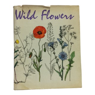 "1964 ""Wild Flowers"" Book For Sale"