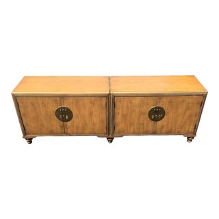 Vintage Baker Far East Credenza For Sale