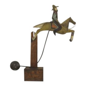 Americana American Country (19/20th Cent) Folk Art toy For Sale - Image 3 of 4