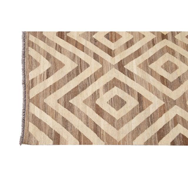 21st Century Modern Kilim Wool Rug For Sale - Image 4 of 12