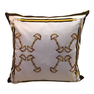 Gucci Scarf Pillow For Sale