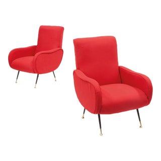 1950s Italian Design Armchairs For Sale