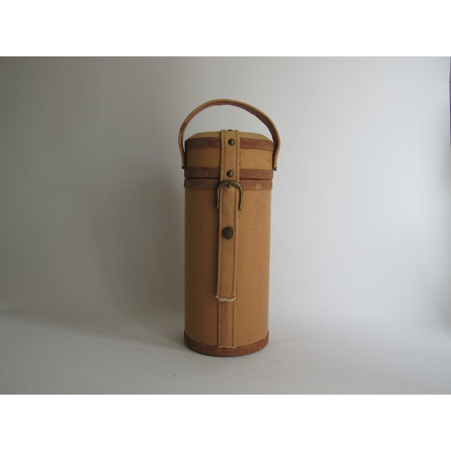 Tweed And Suede Wine Carrier - Image 2 of 8