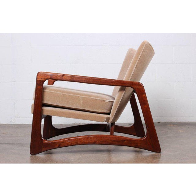 Pair of Lounge Chairs by Adrian Pearsall For Sale - Image 10 of 11