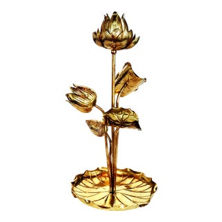 Vintage French Table Lamp in the Taste of Charles For Sale