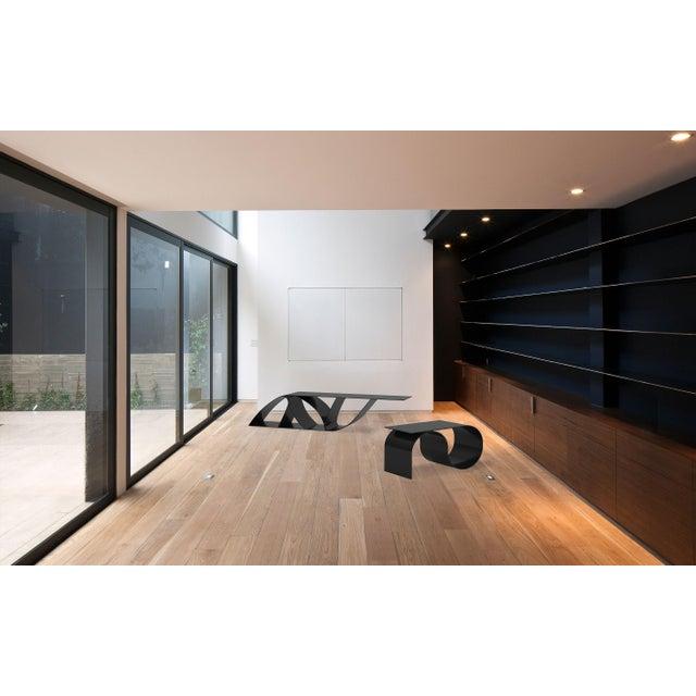 Contemporary Jason Mizrahi Bronze Sia Bench/Table For Sale - Image 3 of 3