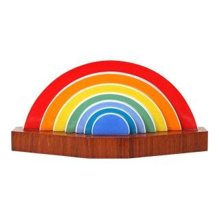 """Otto Piene Rosenthal """"Rainbow"""" Sculpture"""