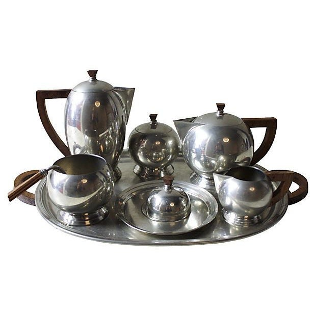 French Pewter Tea or Coffee Server - Image 1 of 7