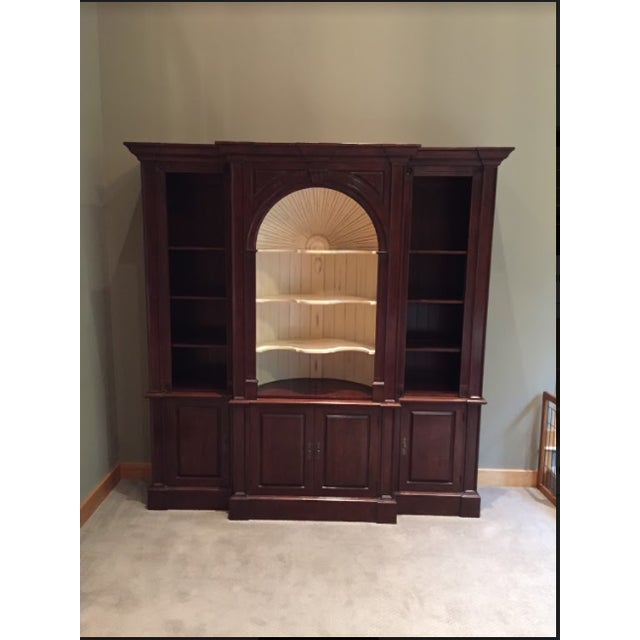 Cherry Wood Harden Goddard Solid Cherry Library Cabinet For Sale - Image 7 of 7