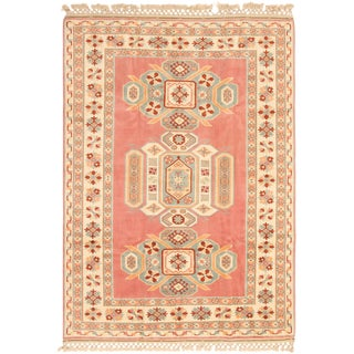 1990s Vintage Turkish Rug- 6′ × 9′ For Sale