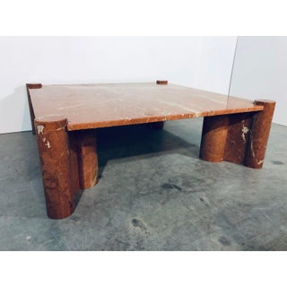 """Gae Aulenti for Knoll """"Jumbo"""" Coffee Table, 1970s Preview"""
