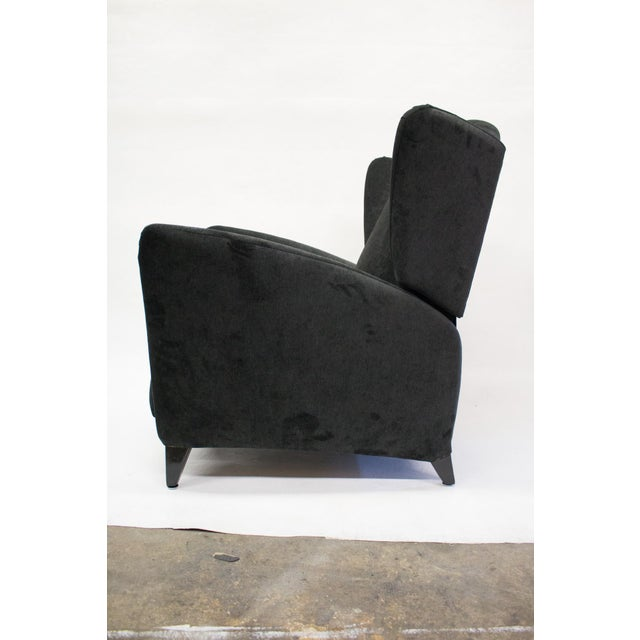 Mid-Century Reclining Wingback Chair - Image 4 of 8