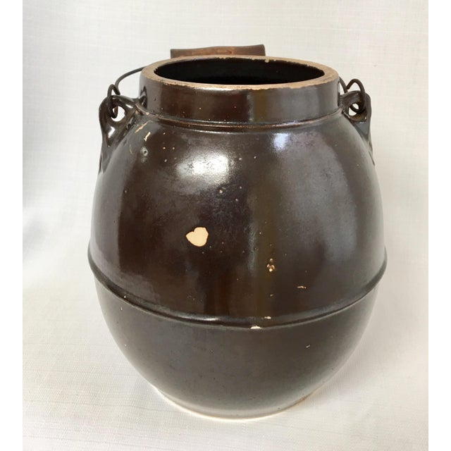 Late 19th Century Antique Stoneware Batter Jug For Sale - Image 5 of 10