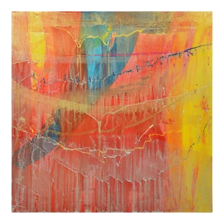 Signed Original Abstract Painting 7484 For Sale