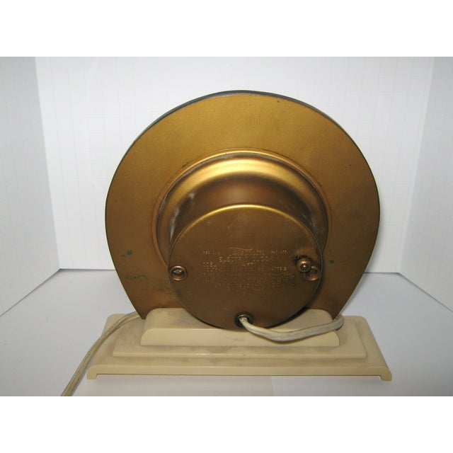 1930s Blue Mirror Telectron Electric Clock - Image 3 of 7