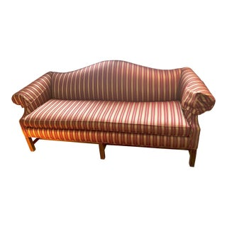 Mid-Century Drexel Camelback Sofa For Sale