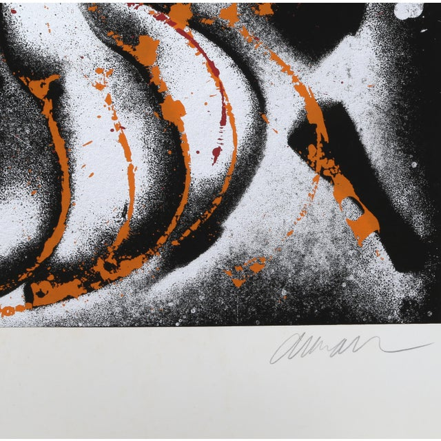 Artist: Arman, French (1929 - 2005) Title: Diabelli Variations Year: 1980 Medium: Serigraph, signed and numbered in pencil...