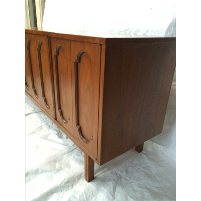 Dixie Dixie Mid-Century Inset Panel Sideboard For Sale - Image 4 of 7