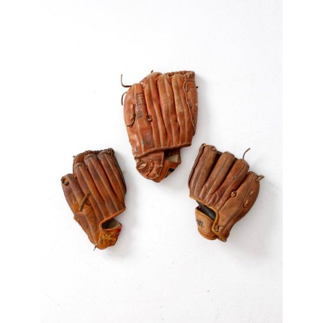 vintage baseball gloves for sale