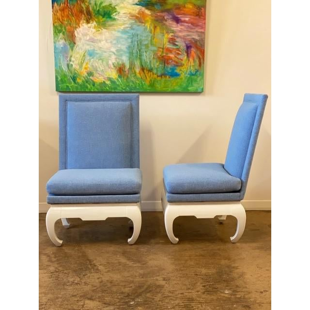 James Mont Style Chairs- a Pair For Sale In Dallas - Image 6 of 6