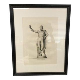 "Early 19th Century ""Marc-Aurele"" Framed Engraving Print For Sale"