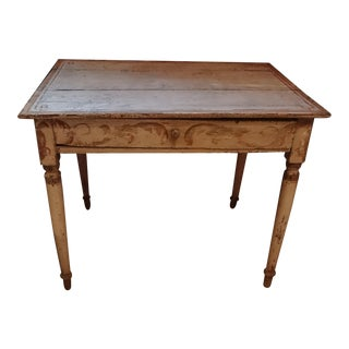 19th Century Painted Italian Table or Desk