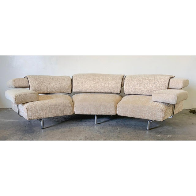 Post modern design hasn't been this hot since the 1990's! This stunning postmodernist sofa designed by Giorgio Saporiti...