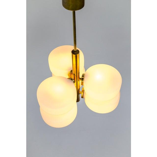 Sputnik 6-Light Disk Pendant by Kaiser Leuchten For Sale - Image 12 of 13