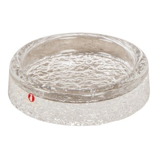 Crystal Ashtray Made in Finland For Sale