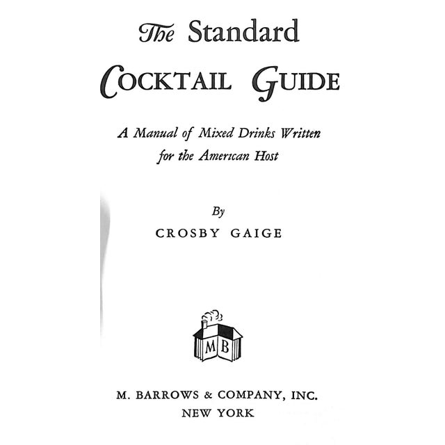 """The Standard Cocktail Guide"" Book - Image 3 of 6"