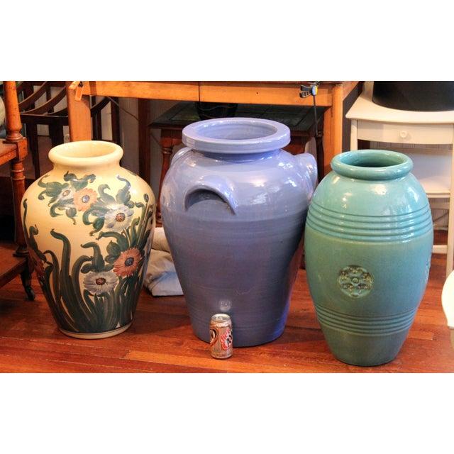 Huge Pickrull Zanesville Norwalk Pot Shop Urn Pottery Arts & Crafts Floor Vase For Sale - Image 11 of 12