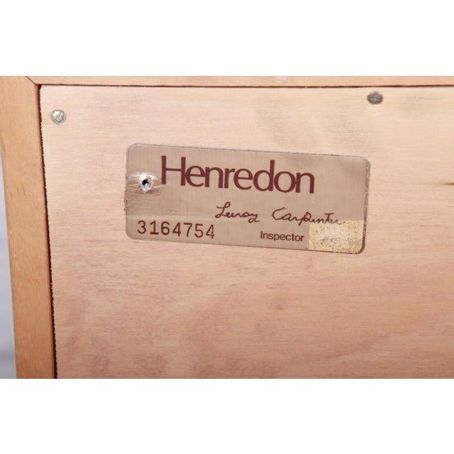 Milo Baughman Style Burl Wood Dresser or Credenza by Henredon For Sale - Image 11 of 13