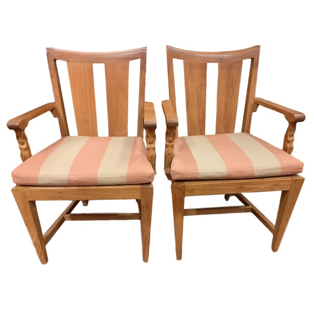 1990s Vintage Sutherland Matisse Teak Dining Chairs- A Pair For Sale - Image 13 of 13