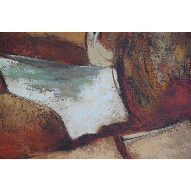 Darwin Musselman 1960s Oil Painting by Darwin Musselman For Sale - Image 4 of 6