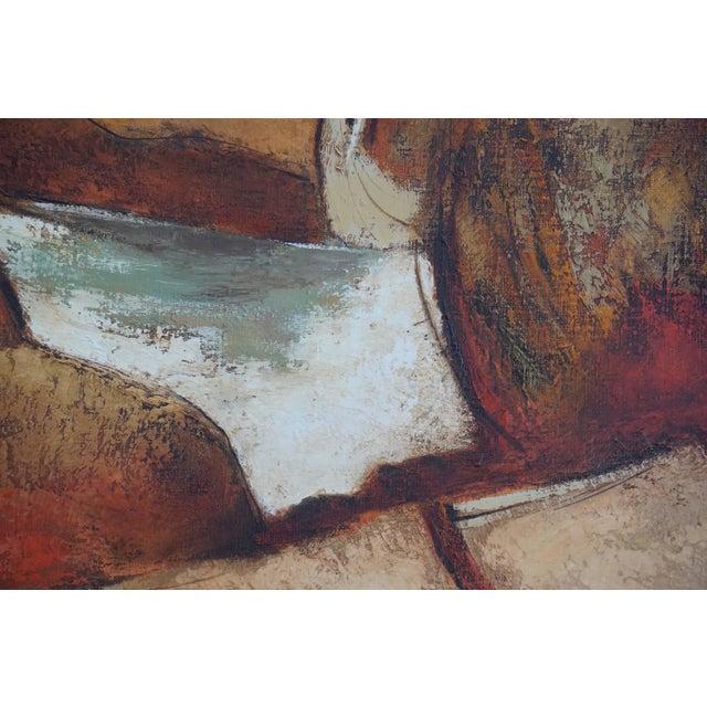 Darwin Musselman 1960s Oil Painting by Darwin Musselman For Sale - Image 4 of 6