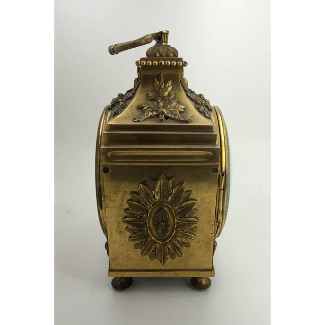 Late 18th Century Louis XVI Pendule d'Officier Ormolu Carriage Clock For Sale In New York - Image 6 of 9