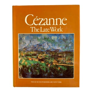 1970s Cezanne: The Late Work Book For Sale