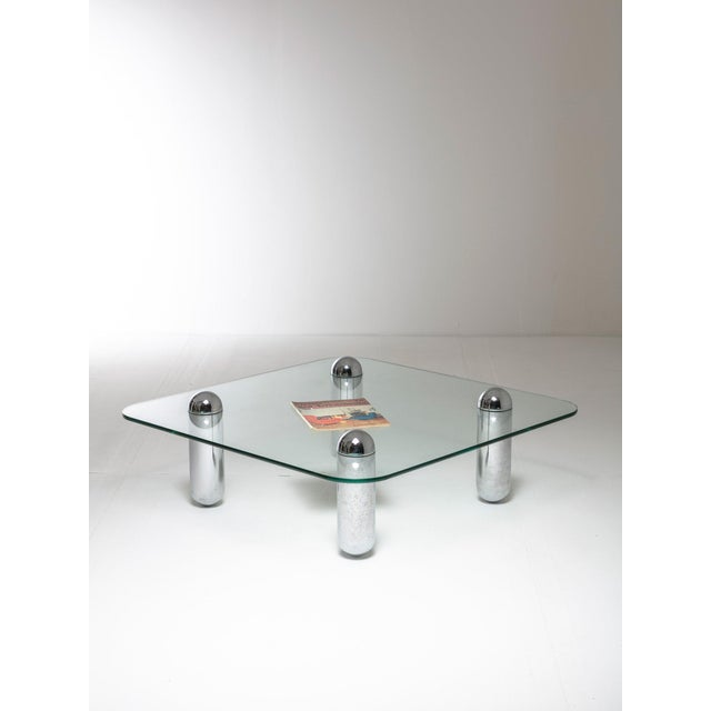 1970s Rare Coffee Table by Lorenzo Burchiellaro For Sale - Image 5 of 6