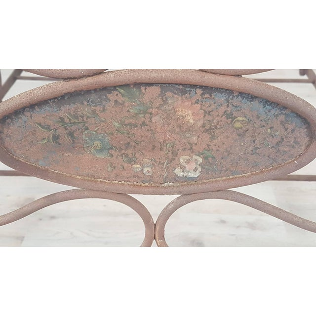 Iron 19th Century Empire Iron Single Bed For Sale - Image 7 of 13