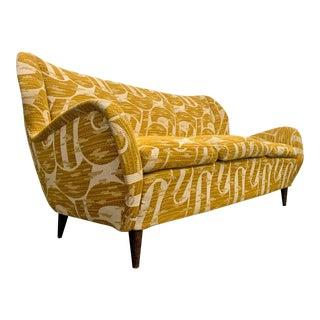 Gio Ponti Mid-Century Modern Italian Sofa for Isa Bergamo For Sale
