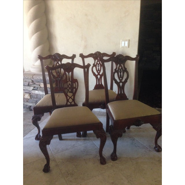 Hickory Chair Mt. Vernon Dining Chairs - Set of 8 - Image 3 of 8