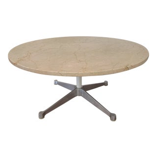 Vintage 1959 Marble Eames Herman Miller Coffee Table For Sale