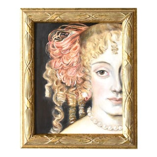 Contemporary Portrait of a Lady by Susannah Carson For Sale