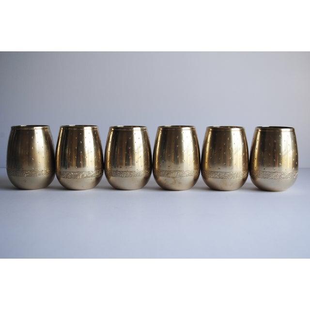 Vintage Brass Punch Set - Image 4 of 5