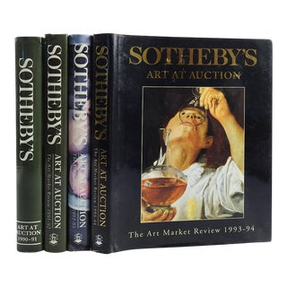 Sotheby's Art at Auction Books- Set of 4
