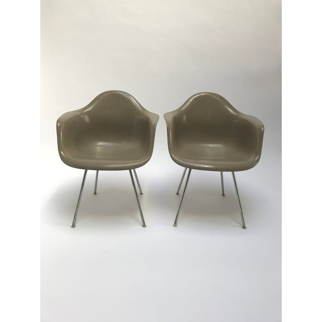 Vintage Eames Armchairs for Herman Miller - a Pair For Sale - Image 11 of 11