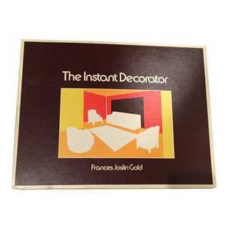 1976 Vintage Decorator's Manual With Templates For Sale