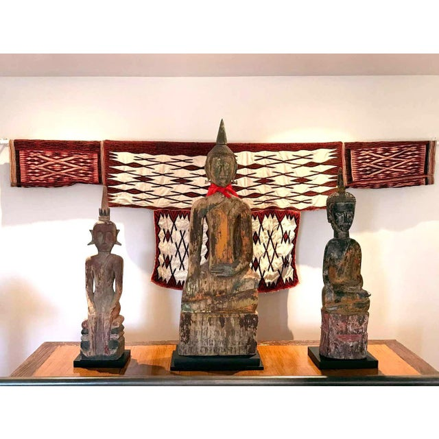 Ceremonial Cape Textile Art from Miao People For Sale - Image 4 of 13